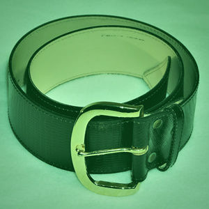 Never used wide leather belt USA